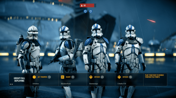 501st Legion by Orthohex at Star Wars: Battlefront II (2017