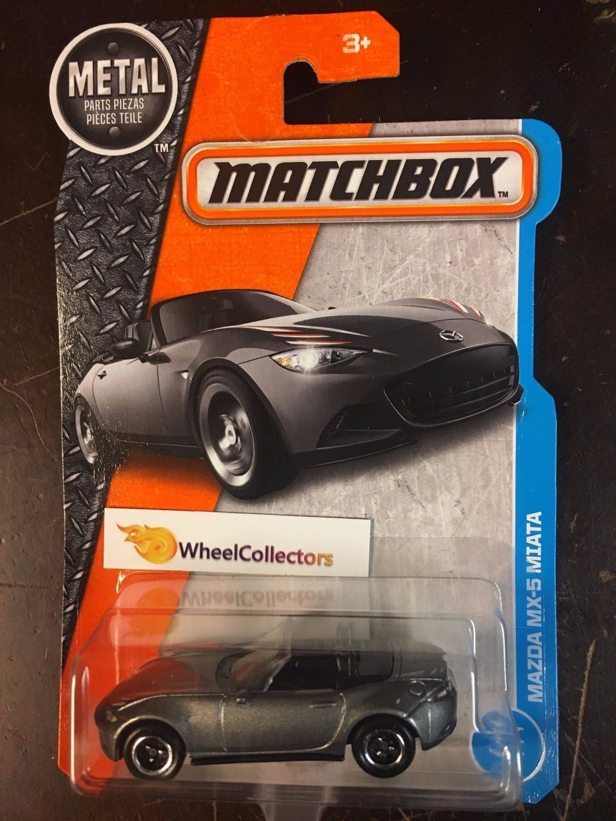 2017 Matchbox H Case Grey WA12 Mazda MX-5 Miata