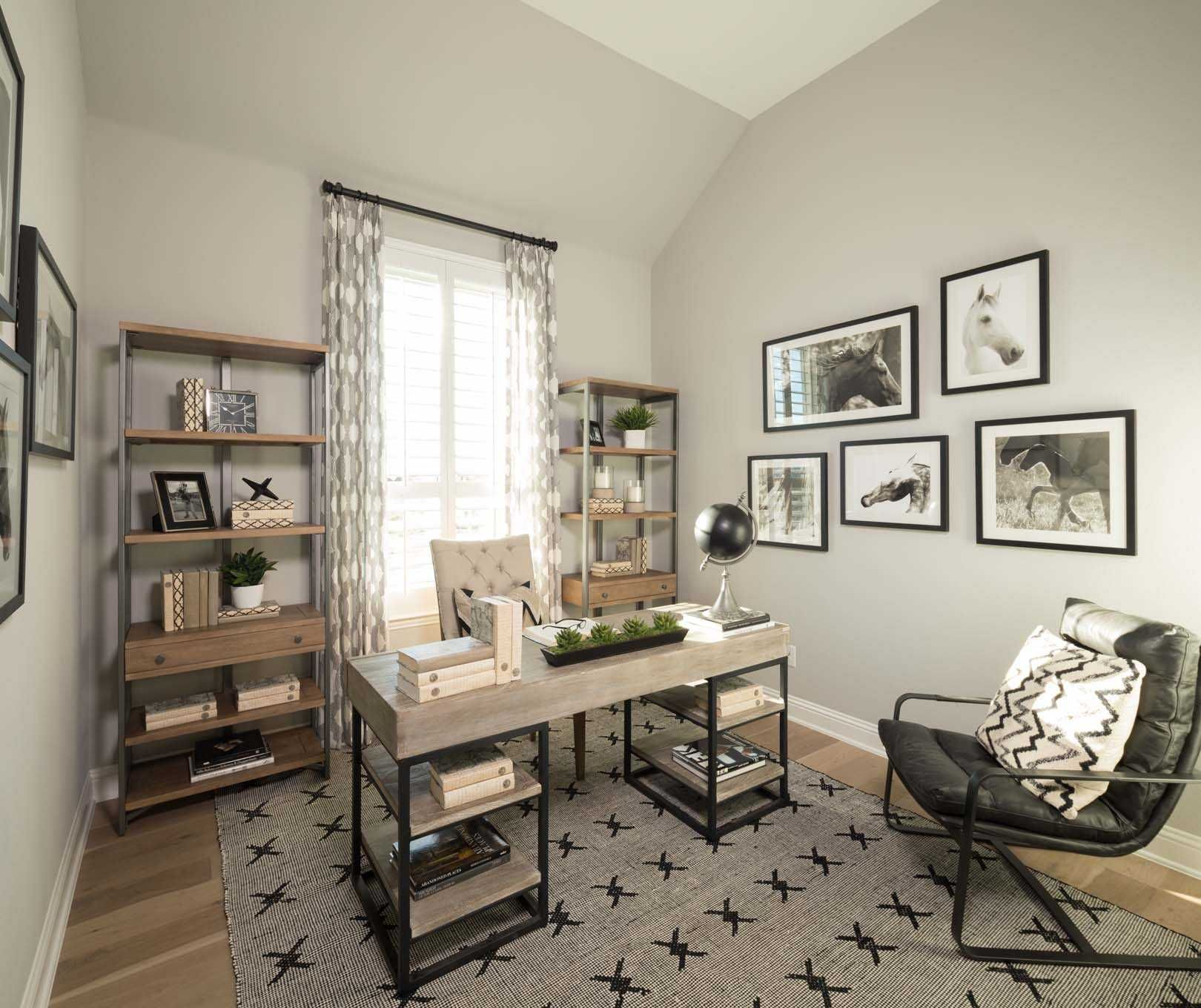 Study in Highland Homes 550 Plan at 6221 Whitebrush Place