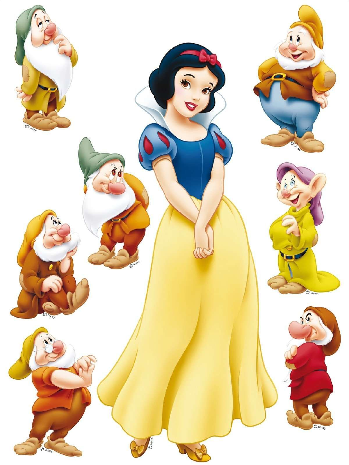 Free Disney Snow White Dwarfs Clipart And Disney Animated Gifs