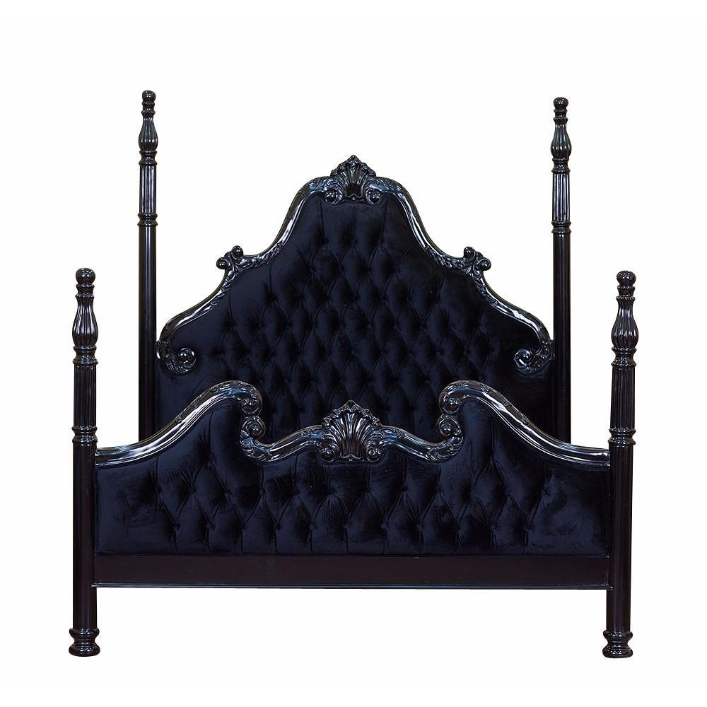 Luxe Bed Dark Home Decor Fantasy Furniture Furniture