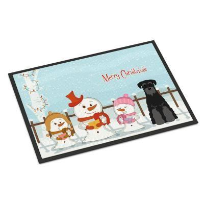 Carolines Treasures BB2385JCMT Merry Christmas Carolers Miniature Schanuzer Salt /& Pepper Kitchen or Bath Mat 24 x 36 Multicolor