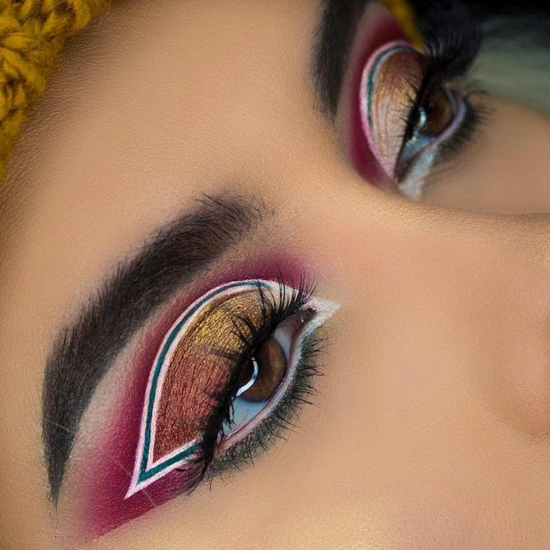 Make Up Kunst, Augen Make Up, Make Up Ideen, Beauty Make Up, Haar Make Up,  Haar Schönheit, Schimmer Lidschatten, Schlafzimmer Augen