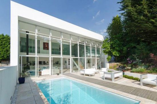 Grand design: Four-bedroom contemporary modernist property in ...