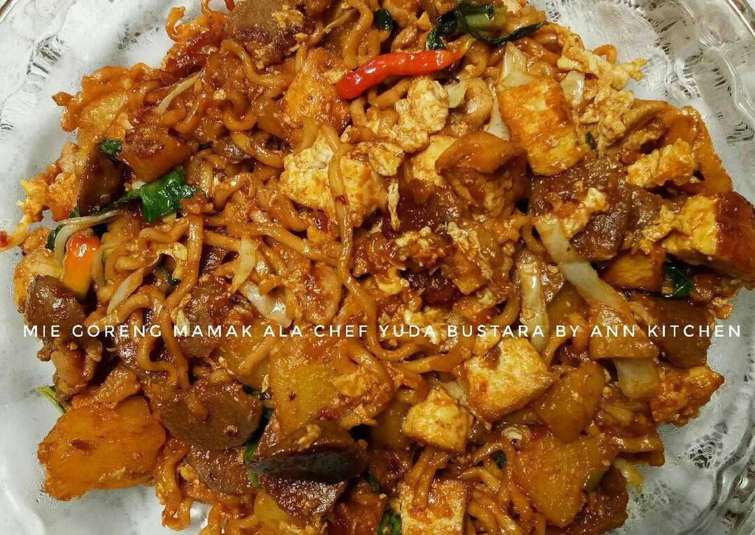 Resep Mie Goreng Mamak Ala Chef Yuda Bustara Oleh Falen Ann Resep Koki Makanan Masakan