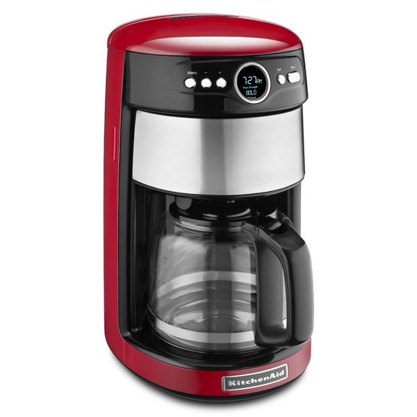 Kitchenaid Kcm1402er Empire Red 14 Cup Coffeemaker With Images Kitchen Aid Coffee Maker Red Coffee Maker Best Drip Coffee Maker