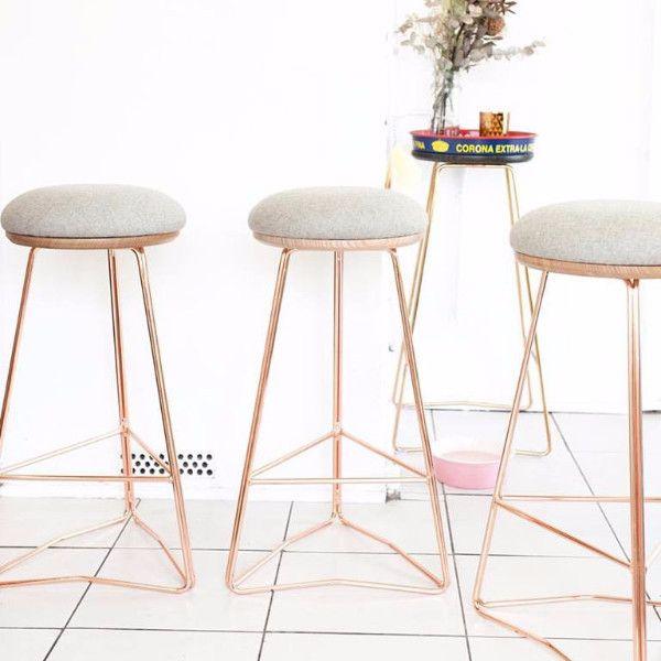 Hunt Furniture Soft Top Stool