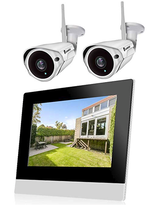 5dfb0180940 Luowice CCTV Home Security Camera System Wireless