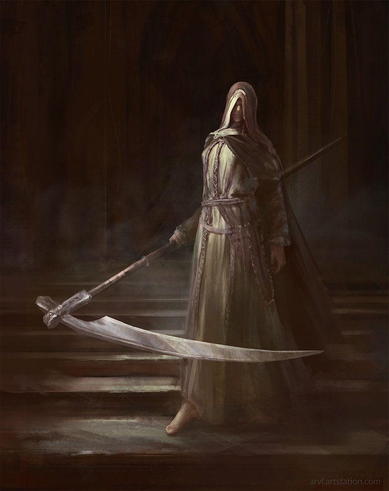 Sister Friede By Arvl Dark Souls Art Dark Souls Dark Souls