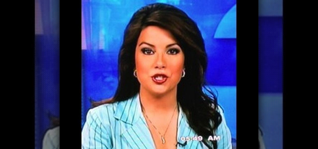 How to Apply flattering makeup for TV news anchors | Hair