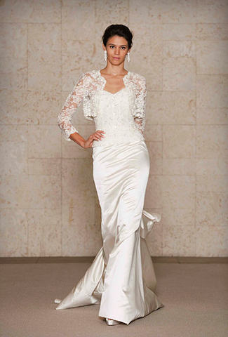 wedding gowns for the woman over 40 | 50s wedding dresses, 50s ...