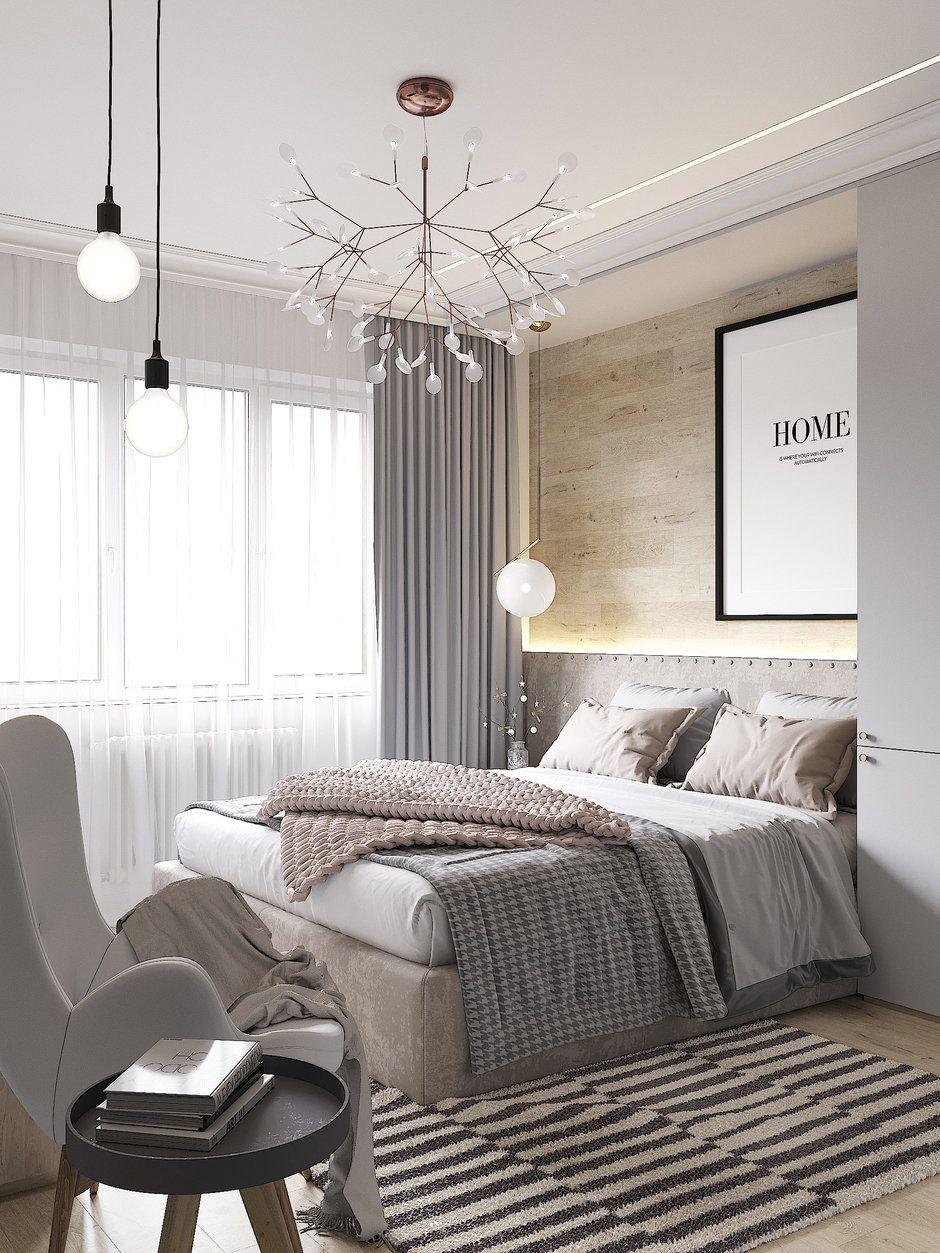 Проект недели: квартира в пастельных тонах с гостиной на ...