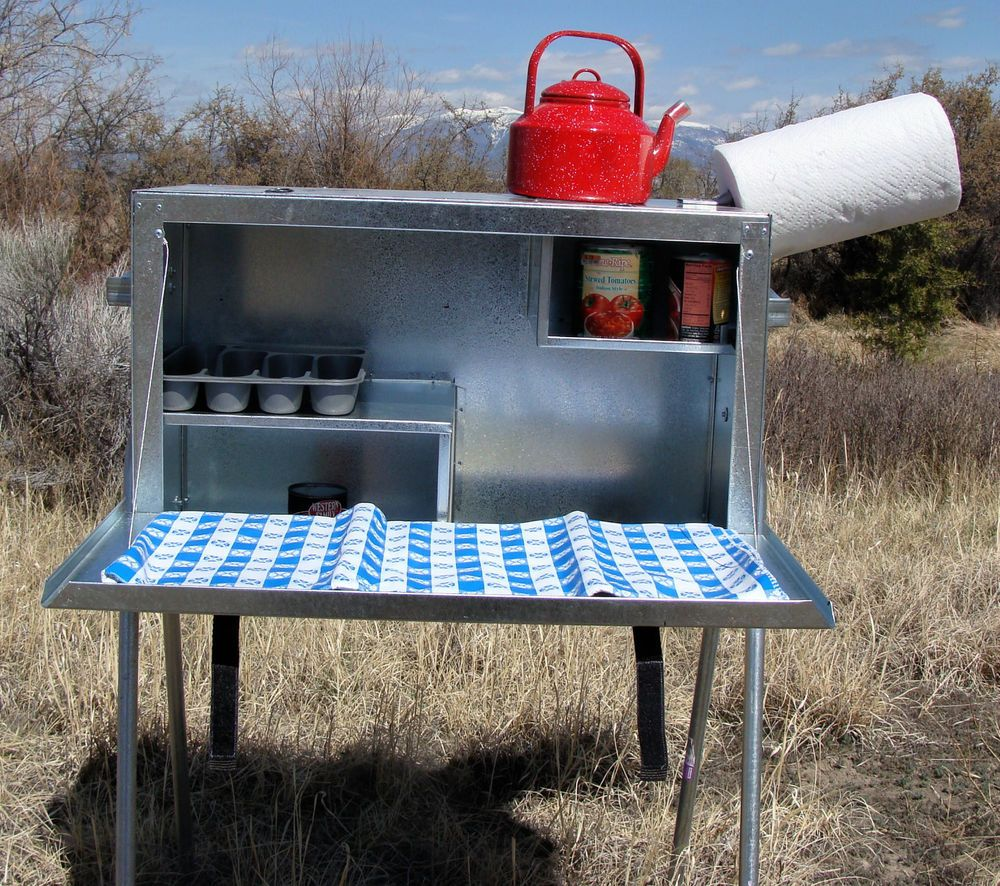 Camp Kitchen Large Camp Kitchen Food Box Riley Stoves Stove Camps And Food Box