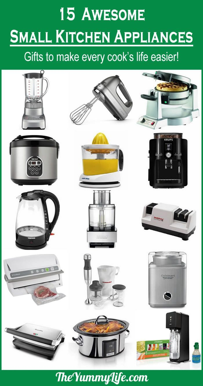 15 Awesome Small Kitchen Appliances For Your Own Wish