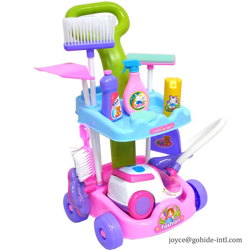 Children Simulation Modern And Elegant In Fashion Cleaner Toys Playsets Vacuum Baby Artificial Playset