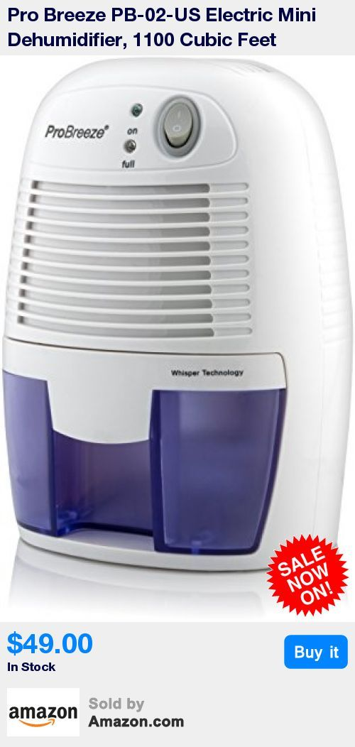 Pro Breeze High Efficiency Lightweight And Portable Dehumidifier