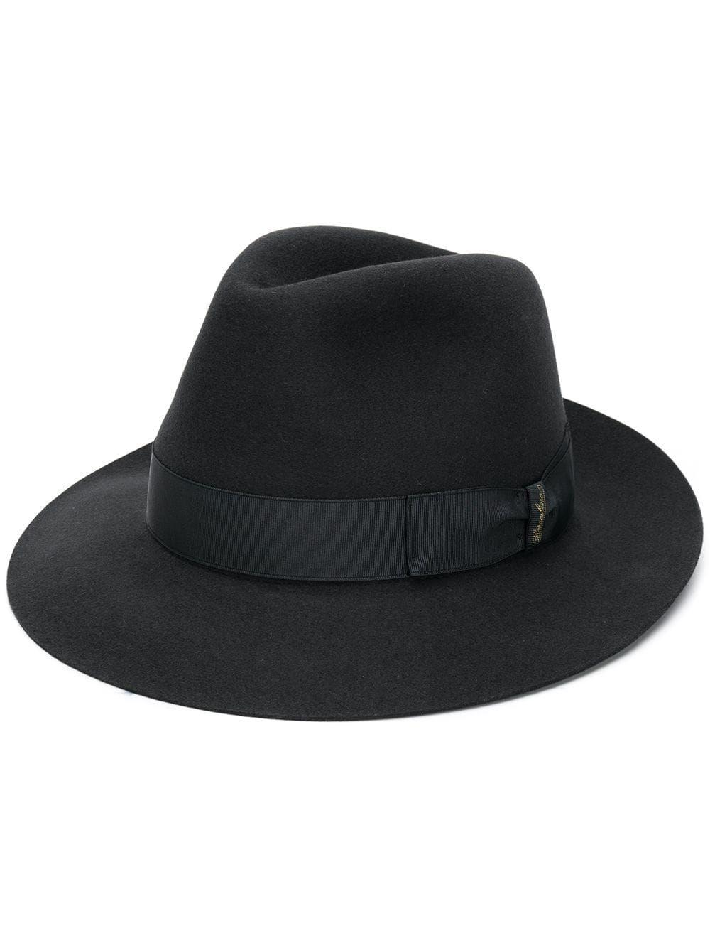 27a108fe8452e4 BORSALINO BORSALINO FEDORA HAT - BLACK. #borsalino | Borsalino ...