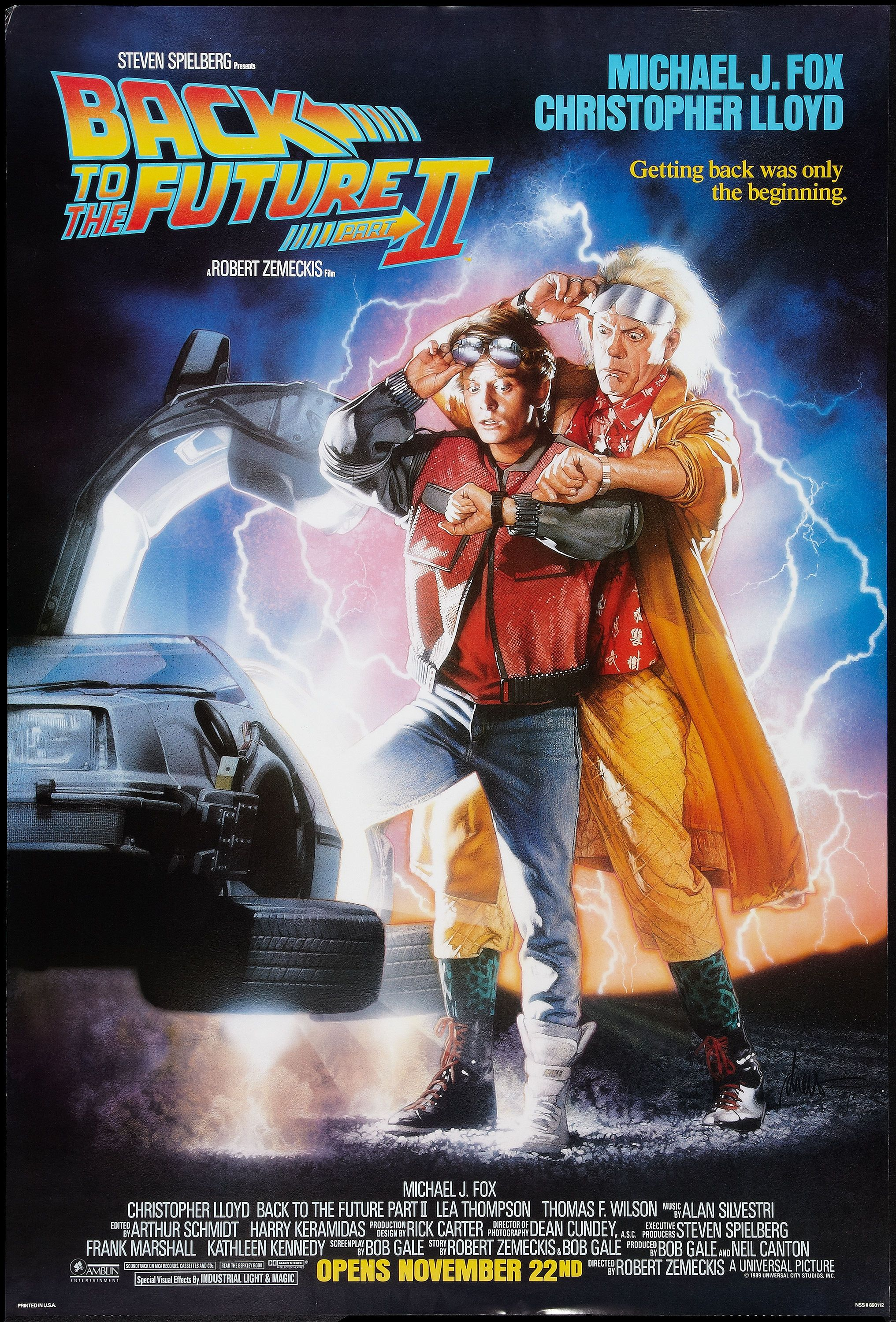Back To The Future 2 Movie Poster Posters Pinterest Short Circuit 27x40 1986