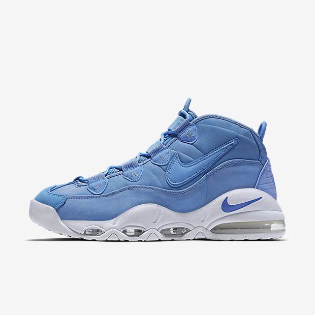 Chaussure Nike Air Max Uptempo 95 Pas Cher Homme Qs Bleu Universite Blanc  Bleu Universite