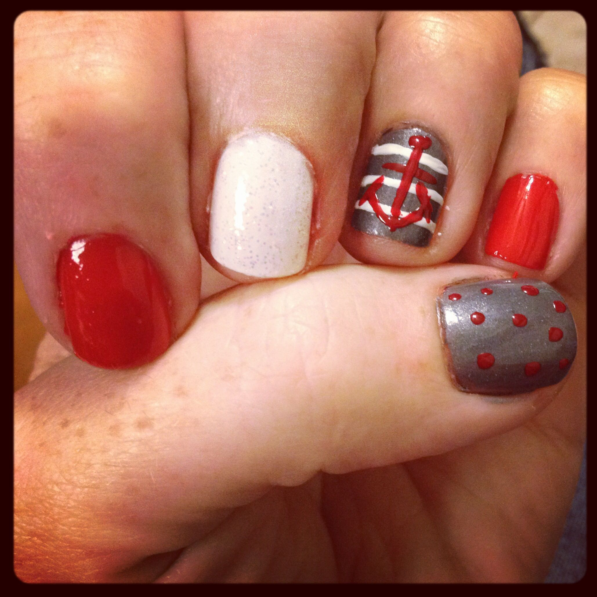 OSU nails for the big game   Nailed It   Pinterest   Hair style