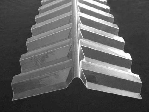 CoverLite Greca Clear Polycarbonate Ridge Cap | Corrugated ...
