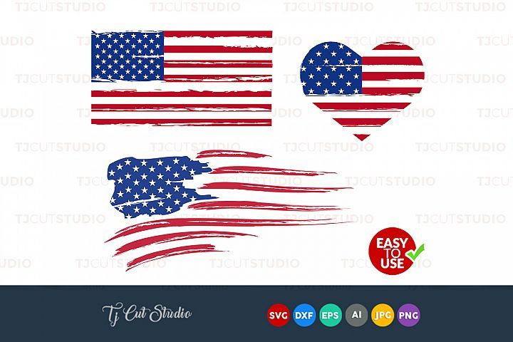 e49e86edc79 Distressed flag