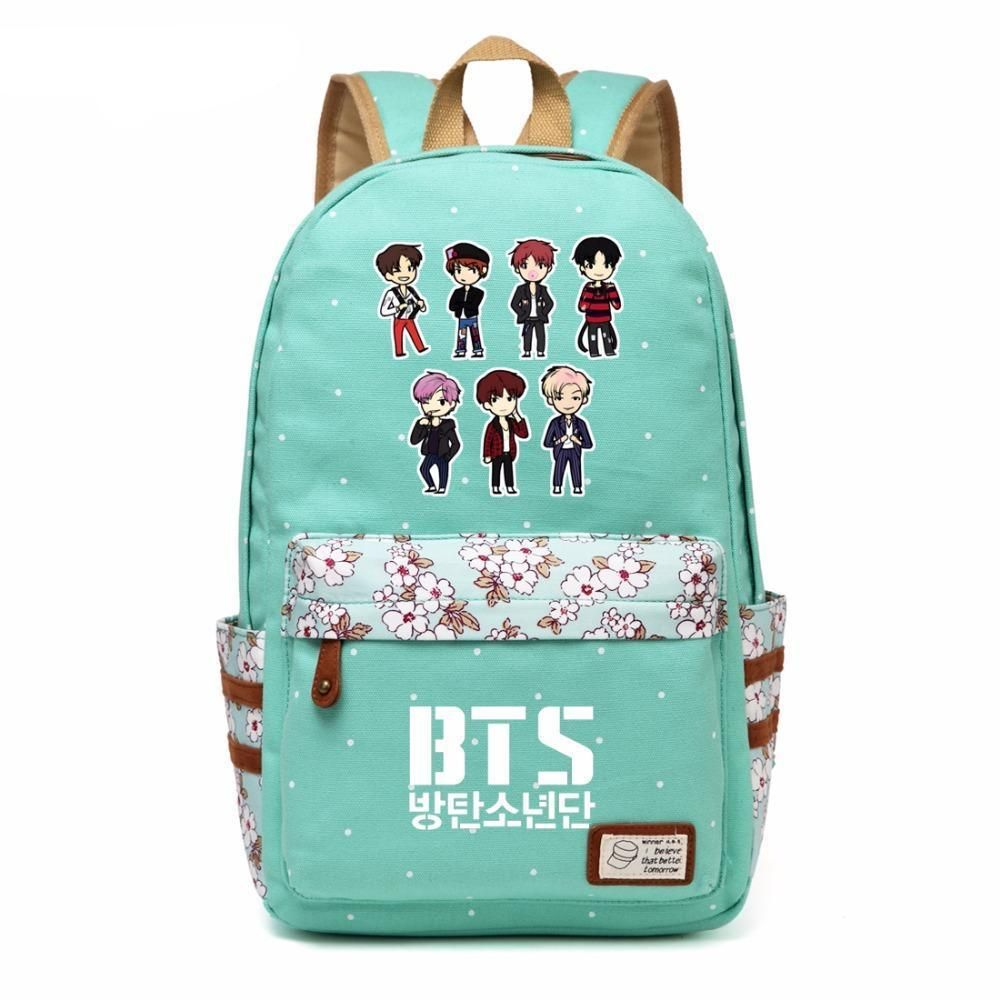 Kpop Bts Love Yourself Canvas Shouder Bag World Tour Cute Mini Satchel Pouch Bag Outstanding Features Costume Props