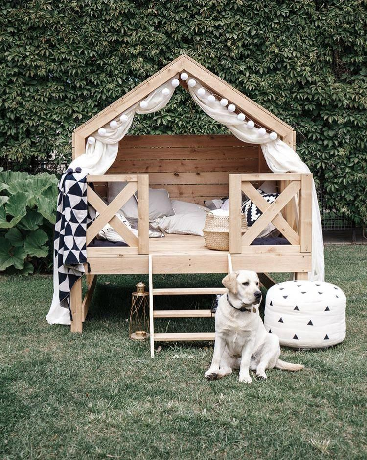 Dog Heaven Kids Outdoor Furniture Playhouse Outdoor Play Houses