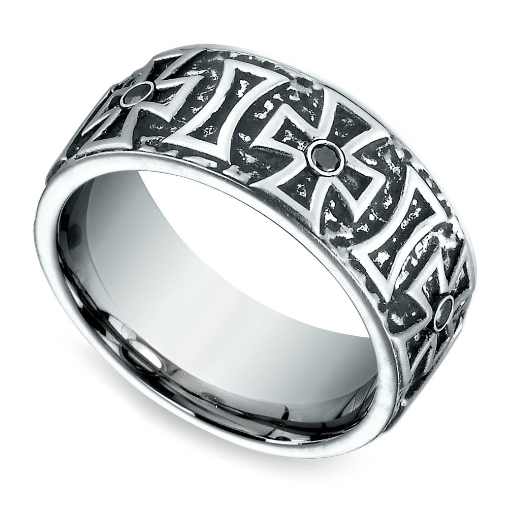 Pin on Men's Cobalt Wedding Bands