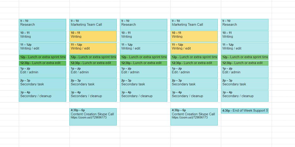Timeline Template  Google Calendar  Process Street