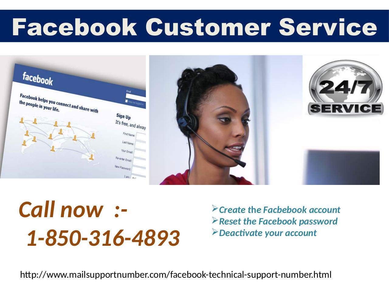 to obtain effectual facebook customer service, you are suggested to