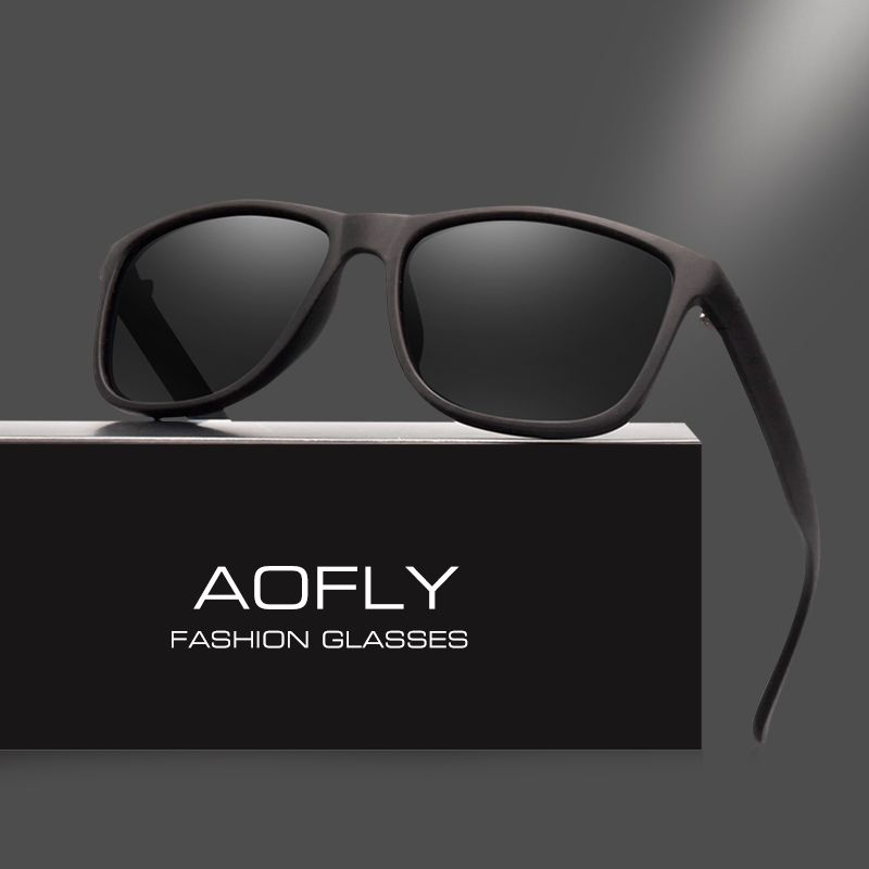 285a16ee1 AOFLY Brand Design Polarized Sunglasses Men Driving Sun Glasses Vintage  Retro Mirror Goggle Eyewear Male Gafas De Sol AF8031 Review
