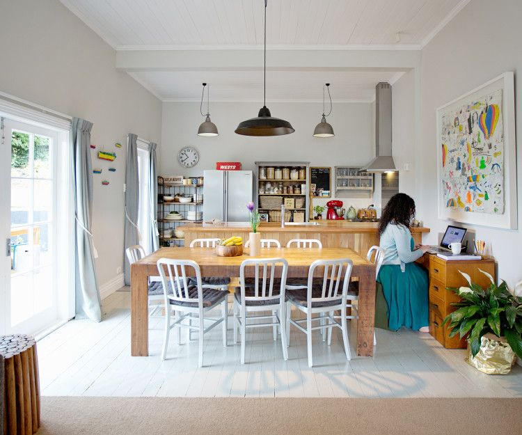 A Dunedin Home Gets A Revamp With An Artistic Touch Home Inside Home Dining Area