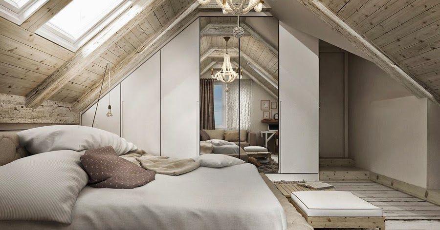 Projects un dormitorio 2 soluciones 3d dormitorios for Casa clasica 2 dormitorios techo inclinado