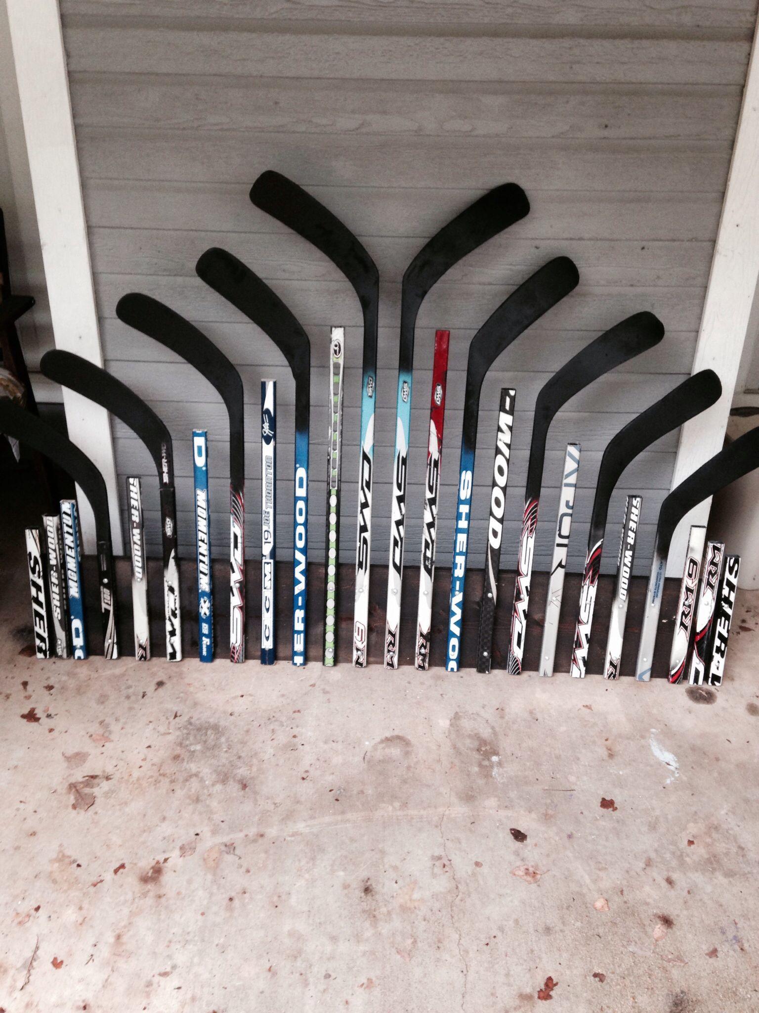 hockey stick headboard for the home pinterest hockey hockey