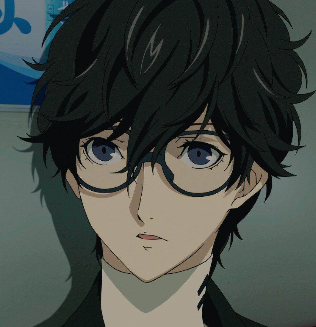Anime boy black hair kawaii uhhh his eyes  persona  pinterest  persona persona  and persona