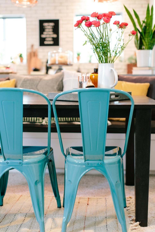 19++ Blue kitchen chairs information