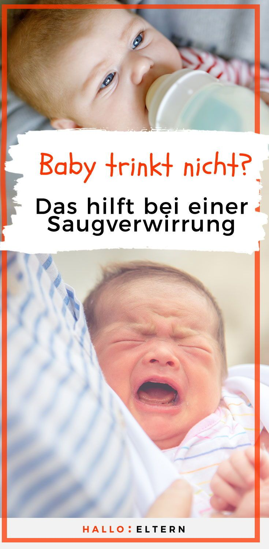 Baby Trinkt Brust Nicht Leer