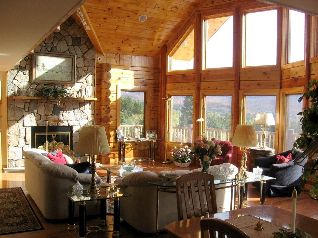nice size for this room log home great rooms log home in the new