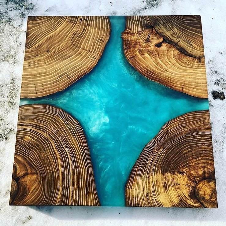Epoxy Driftwood Table: PIN: RUSTIC REVOLUTION WOODWORKING☽