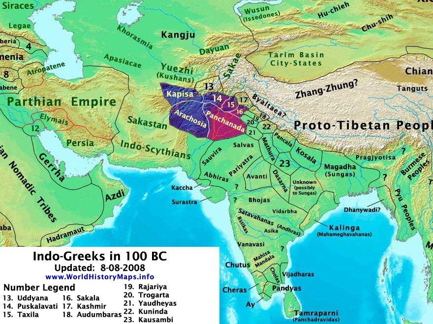 Ancient Maps India Timeline Ramayana Mahabharata India - best of world history maps thomas lessman