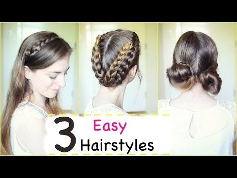 Me Before You Inspired Hairstyle Tutorial Everyday Hairstyles Braidsandstyles12 Hair Styles Everyday Hairstyles Hair Tutorial