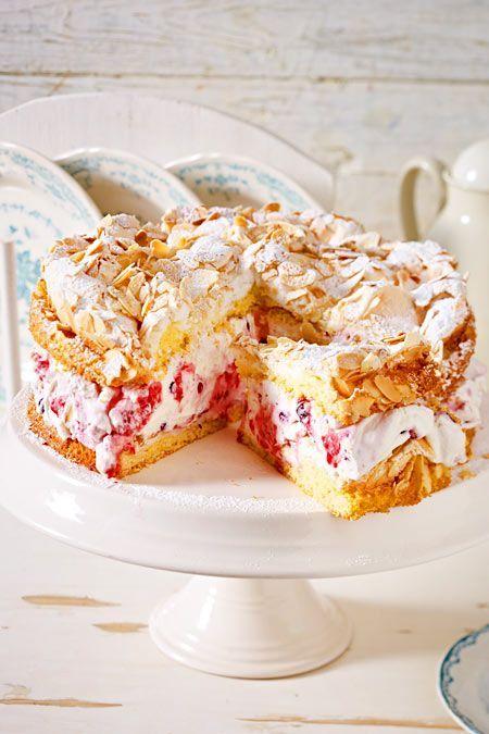 Photo of Raspberry Meringue Cake Recipe DELICIOUS