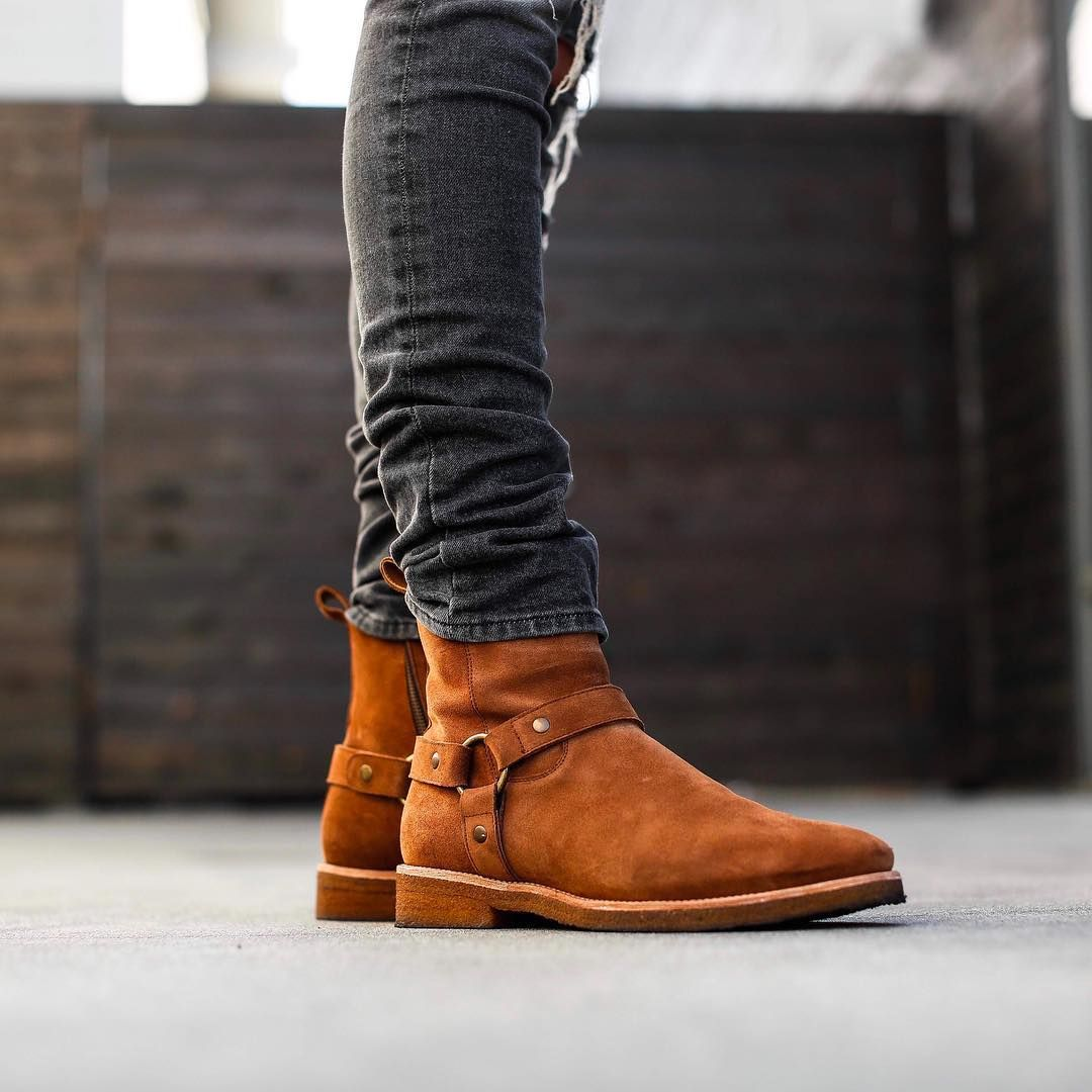 "8,290 Me gusta, 32 comentarios - MEN'S FASHION POST (@mensfashionpost) en Instagram: ""New Exclusive Releases @orolosangeles Shop New Arrivals @orolosangeles Congac Wes Harness Boots…"""