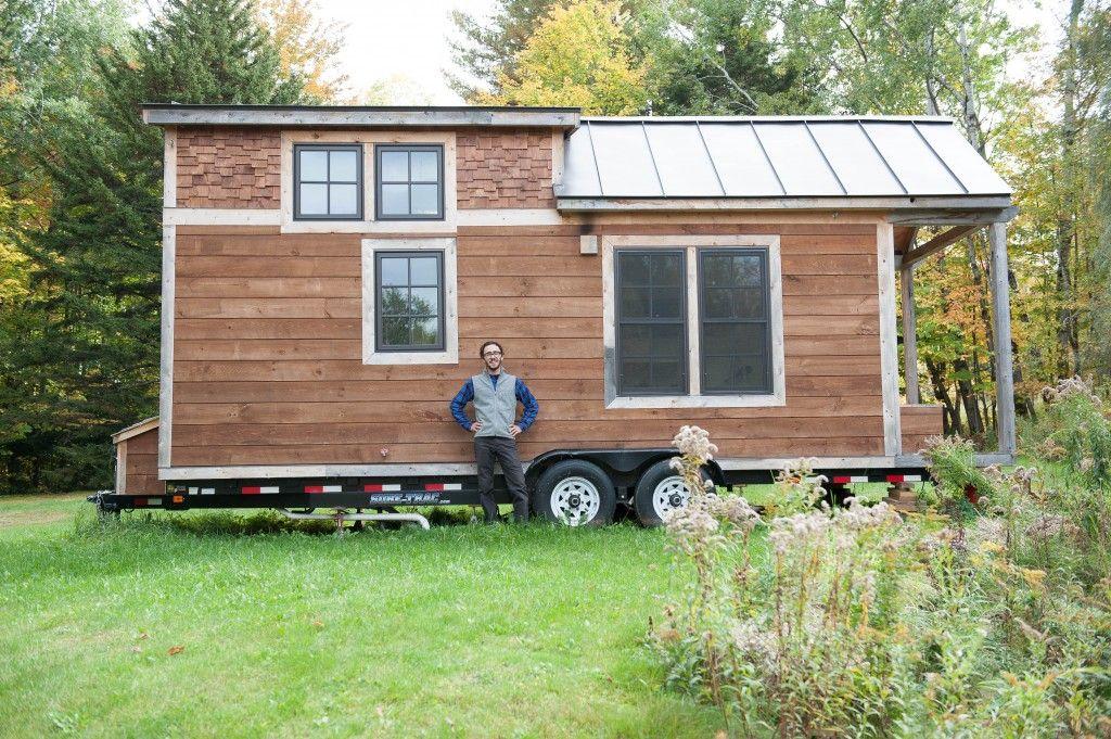 Ethan Waldman S Tiny House On Wheels In Vermont Tiny