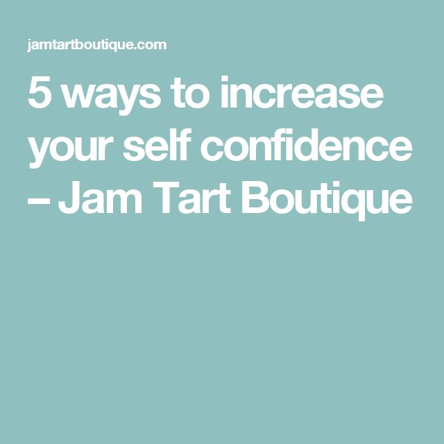 self confidence jam