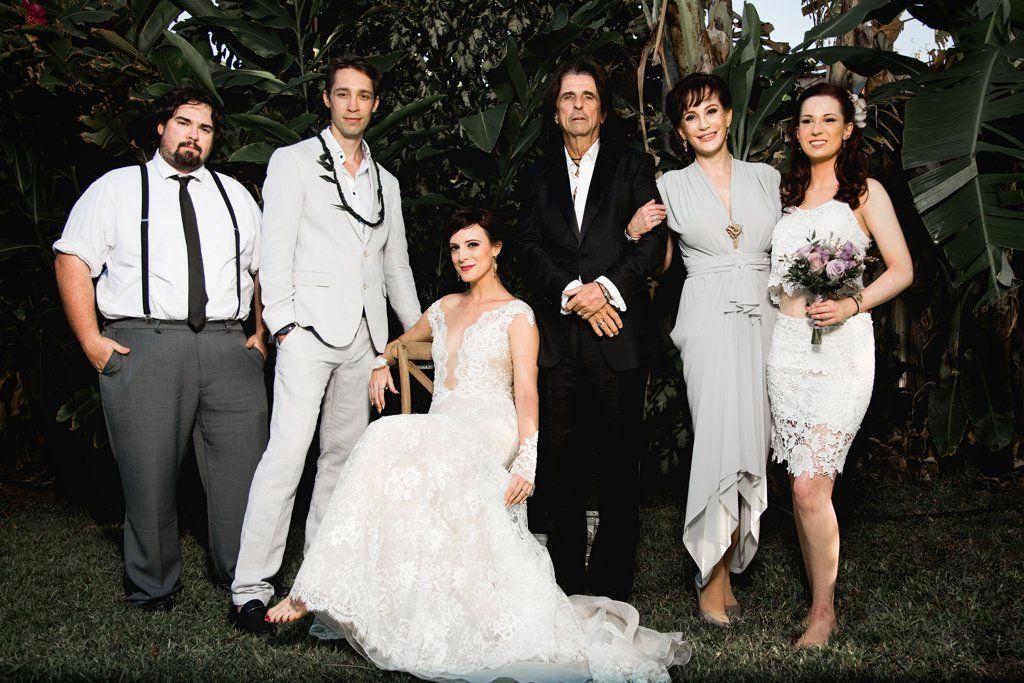 Alice Cooper's Daughter's Wedding POPSUGAR Love & Sex