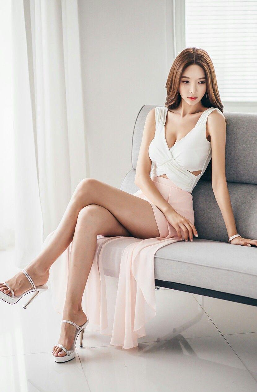 Sexy asiatische Beine Bilder