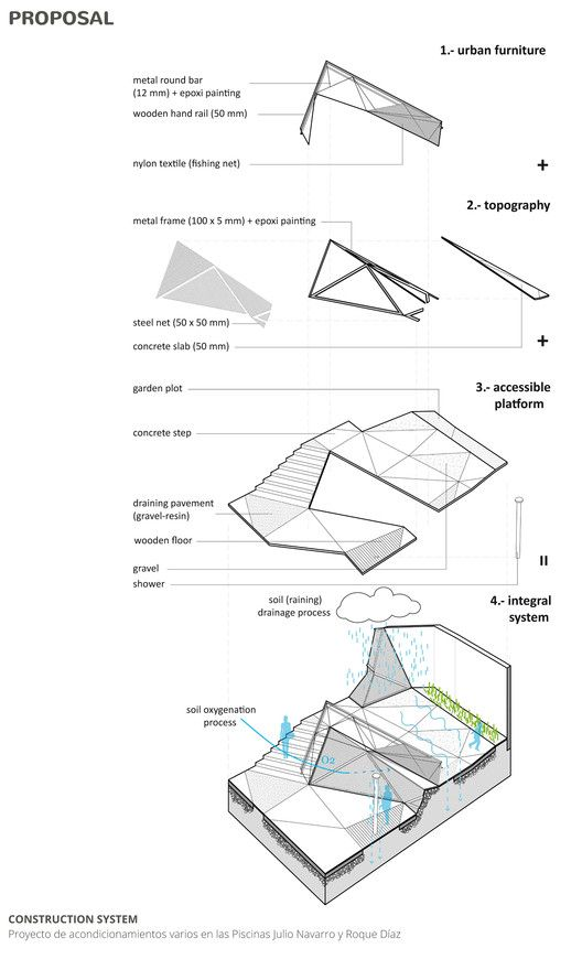 Gallery of A Triangulated Ramp Made For People With Reduced Mobility