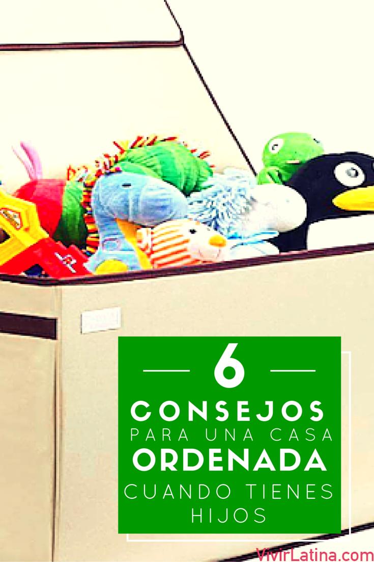 6 consejos para una casa ordenada cuando tienes hijos - Trucos para tener la casa ordenada ...